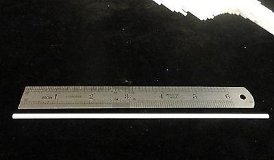 """ONE 6.875""""x0.125""""x0.062"""" HIGH PURITY SINGLE BORE ALUMINA CERAMIC TUBE  No.: 147 6"""