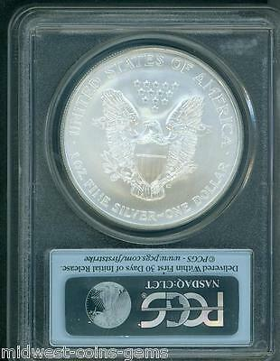 2003 American Silver Eagle ASE S$1 PCGS MS69 FIRST STRIKE FS 2