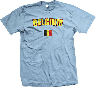 Belgium Country Flag Pride Brussels Europe Black Yellow Red Boy Beater Tank Top
