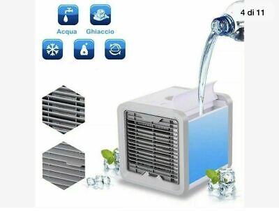Mini Climatizzatore Condizionatore Ad Acqua Portatile Ventilatore Vento Usb New 2