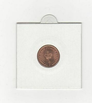Uncirculated Half Penny Piece 1983 Last date minted 1/2 Pence in Coin Pocket 2