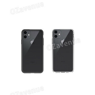 【Airbag Shockproof】iPhone 11/Pro/Max Clear Case Bumper Slim Cover Silicone TPU 9