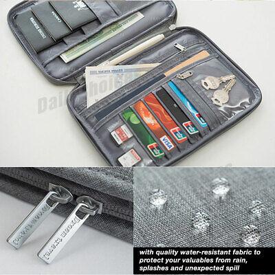 Family Travel Organiser Passport Document Holder RFID Cards Tickets Wallet Pouch 7