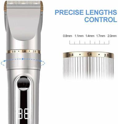 Tagliacapelli elettrico professionale, Lame in ceramica e titanio, Regola barba 6