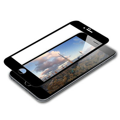 3D Full Coverage Tempered Glass Screen Protector Cover For iPhone 6 6S 7 + Plus 4