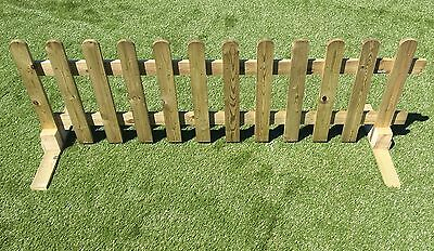 wood picket fence panels. Plain Panels 1 Of 6FREE Shipping Portable Freestanding Treated Wooden 6ft Picket Fence  Panel 2ft 3ft Or 4ft High Throughout Wood Panels