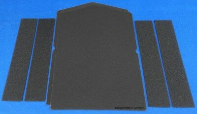 1 x Schwammfilter HX Filter f. Bauknecht  481010354757 Filtermatte Schaumstoff X