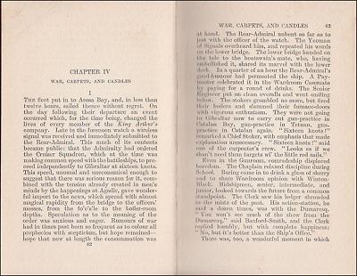 1919 Charles Morgan THE GUNROOM, Novel Based on his ROYAL NAVY Service 1907-1913 6