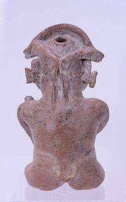 Large Fine Pre-Columbian Pottery Figure 3