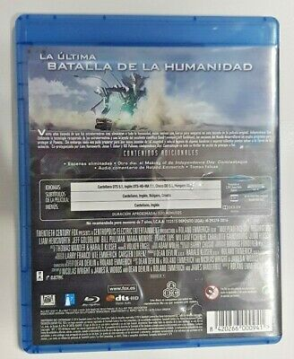 Pelicula Bluray Independence Day Contraataque 3
