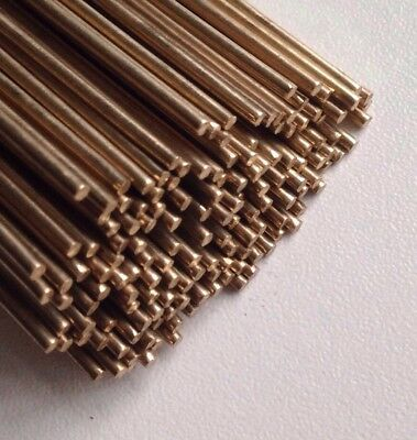 1.6mm x 50 Silicone Bronze Brazing Rod Wire C2 Low Fuming Silicon 5