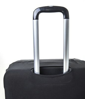 "Anti Scratches Elastic Luggage Protector Suitcase Cover 20"" 24 28 inch Black 5"