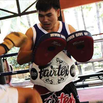 FAIRTEX FMV12 ANGULAR FOCUS MITTS PUNCHING TRAINING BOXING MUAY THAI MMA K1