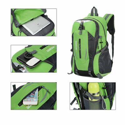 40 Liter Waterproof Outdoor Sports Bag Backpack Travel Hiking Camping Rucksack 6