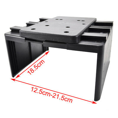 Car Armrest Storage Box PU Leather Rotatable Arm Rest Center Console 5