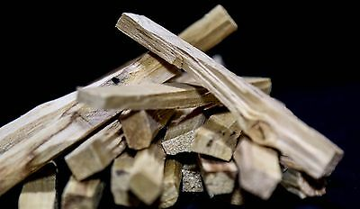 Palo Santo Holy Wood Incense 75 (STICKS APPROX) 1 LB SIZE BAG(4+inches long) 10