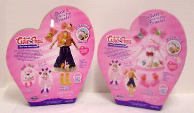 Cutie Pops Doll Clothes Fashion Packs Day In the Park & Party Evening Wear New 2
