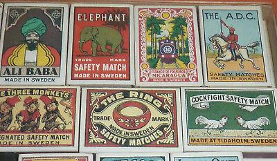 47 Streichholzschachteln Sammlung Reklame Werbung um 1900 Automobilia etc. 4