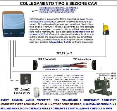 Scheda Comando Cancello Scorrevole Motore Came 220 V 550 W Centrale 2 Radiocoman Eur 108 00 Picclick It
