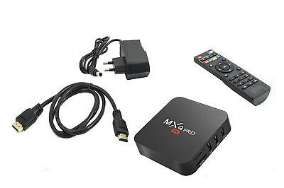 Android tv box wifi internet smart tv full hd 1080p 16 gb mxq pro 4k 5