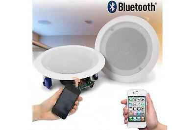Coppia casse altoparlante audio bluetooth soffitto incasso casa 20w P8055 3