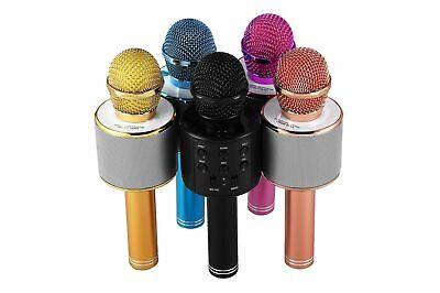 Microfono Wireless Con Altoparlante Cassa Integrata Bluetooth Portatile Karaoke 4