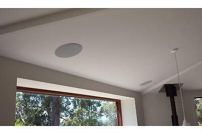 Coppia casse altoparlante audio bluetooth soffitto incasso casa 20w P8055 2