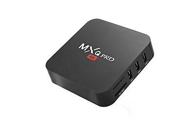 Android tv box wifi internet smart tv full hd 1080p 16 gb mxq pro 4k 3