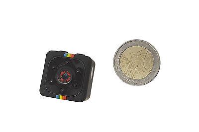 Telecamera videocamera hd full 1080p spia visione notturna micro camera SQ11 4