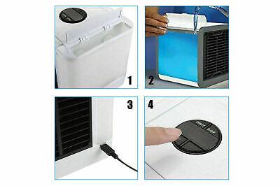 Mini Climatizzatore Condizionatore Ad Acqua Portatile Ventilatore Vento Usb New 6
