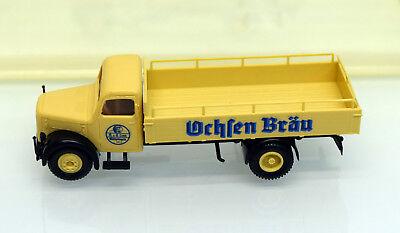 Brekina Magirus S3500 Löwenbräu  Bier-Pritsche aus Sammlung OVP Pos.210//500