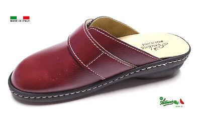 Pantofole ciabatte donna chiuse MADEinITALY PLANTARE ESTRAIBILE 310 italiane 4