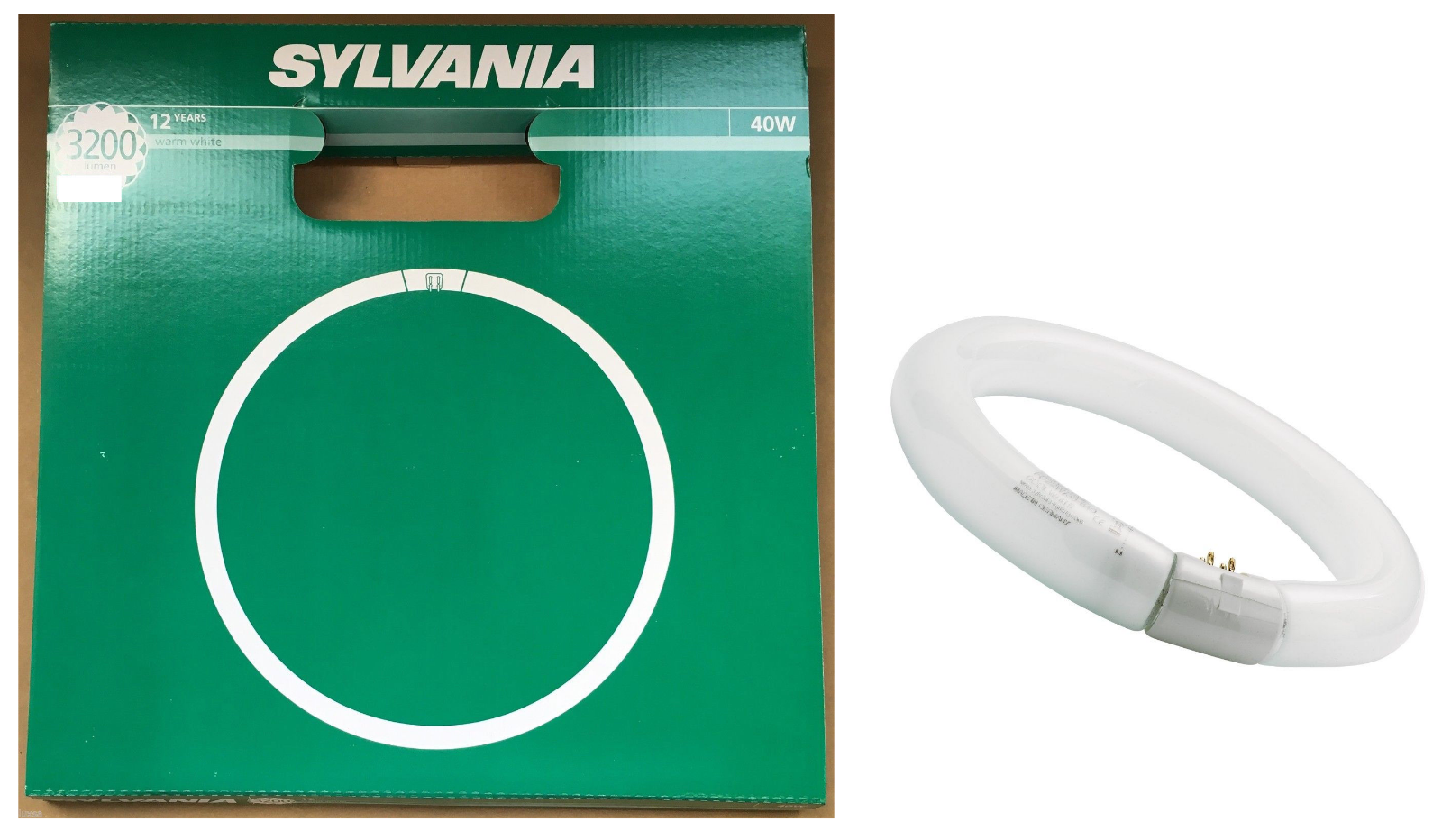 32w Circulaire Cool Chaud T9 40w Fluorescent Sylvania Jour 22 Blanc Rond W Tube RcS3L54Ajq