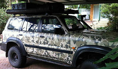 Camo Wrap - Car & Bike Wrapping Camouflage Vinyl Foile Film - Arctic Snow, Army,
