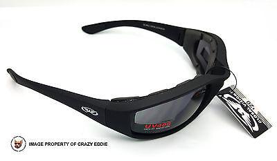 930f55b05052 ... Global Vision Kickback Foam Padded Riding Glasses Sunglasses Motorcycle  Biker 6