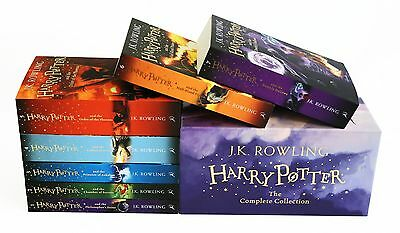 The Complete Harry Potter 7 Books Collection Boxed Gift Set NEW J. K. Rowling 3
