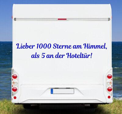 Aufkleber Wunschtext Wohnmobil Wohnwagen Camper Camping