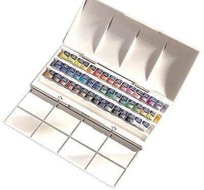 Starter Set Winsor and Newton Cotman Watercolours Studio Set, Brushes & Sponges