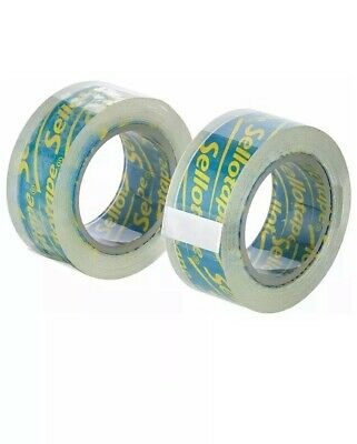 20 x Sellotape On-Hand Tape Refills Super Clear Extra Sticky Adhesive 2 x 15m 5