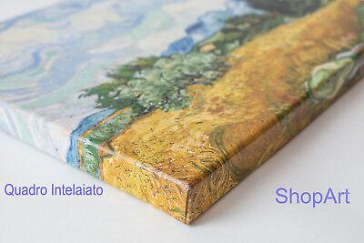 Quadro Ando Hiroshige IL Mare di Satta Stampa su Tela Canvas Effetto Dipinto 3