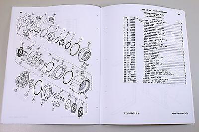 J i case model 65 front end loader tractor parts assembly manual 6 of 7 j i case model 65 front end loader tractor parts assembly manual catalog fandeluxe Choice Image