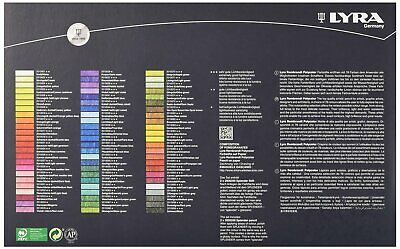 Coloured pencils POLYCOLOR REMBRANDT LYRA 72 colours in Gift box 2001720 7