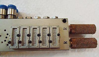 Smc Solenoid Valve Holder For Smc Vj3140 And Smc Vj3240 4