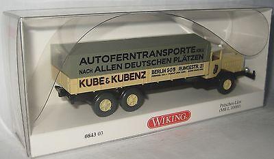Wiking 084303-1//87 Pritschen-Lkw Neu Mb L 10000