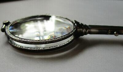 Lorgnon Silber 935 Brille Antik 9