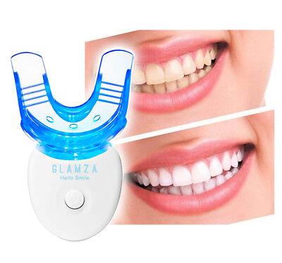 Teeth Whitening Kit LED Laser Light Mouth Tray Smile Dental Gel Hi Tooth White 2