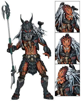 """Hot NECA Predator Clan Leader Alien Hunter 7"""" Action Figure Ultimate Deluxe 2"""
