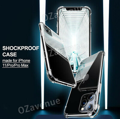 【Airbag Shockproof】iPhone 11/Pro/Max Clear Case Bumper Slim Cover Silicone TPU 2