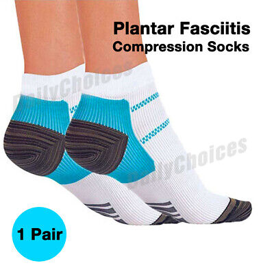 Plantar Fasciitis Foot Pain Relief Sleeves Heel Ankle Sox Compression Socks 2