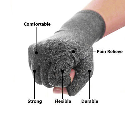 Arthritis Gloves Compression Joint Finger Pain Relief Hand Wrist Support Brace 9